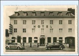 V2082/ Köln  Hotel Restaurant Schäfer Riehlerstraße Foto AK 1953 VW Käfer, Opel - Koeln