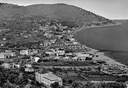 Cartolina Andora Panorama Dall'alto Timbro Colonia Marina Dipendenti Comunali  (Savona) - Savona