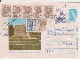 WW1 TIRGU JIU MONUMENT ECATERINA TEODOROIU ROMANIA POSTAL STATIONERY - WW1 (I Guerra Mundial)