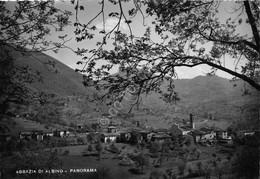 Cartolina Abbazia Di Albino Panorama 1955 (Bergamo) - Bergamo