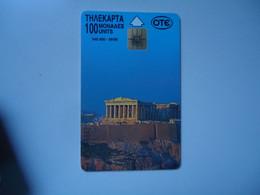 GREECE    USED   CARDS ACROPOLE - Grecia