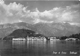 Cartolina Bellagio Lago Di Como Panorama Dal Lago 1952 - Como