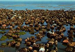 CPM - DAHOMEY (BENIN) - Cité Lacustre De GANVIÉ ... (vue Aérienne) - Benin