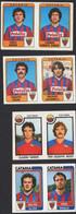 Stikers Panini 1982-83 1984-85 1986-87 Calcio Football Catania Ranieri Mosti Luvanir Borghi Pidone Giovannelli FAS00391 - Edizione Italiana