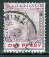 Trinidad 1896 Victoria Single 1d Stamp From The Definitive Set In Fine Used - Trinidad & Tobago (...-1961)