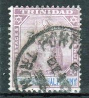 Trinidad 1896 Victoria Single 2½d Stamp From The Definitive Set In Fine Used - Trinidad & Tobago (...-1961)