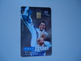 GREECE    USED   CARDS  SPORTS - Grecia