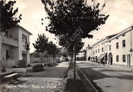 Cartolina Pavone Mella Viale Dei Caduti Animata 1963 Tassata Con Segnatasse (Brescia) - Brescia