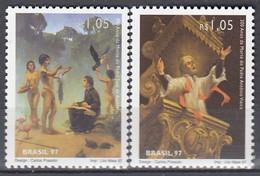 BRAZIL 2760-2761,unused - Cristianesimo