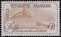 France . Y&T .    153  .   Signé  (2 Scans)   .    *    .    Neuf Avec Gomme D' Origine Et Trace De Charnière - Unused Stamps