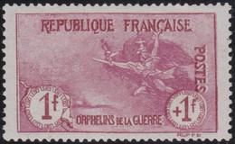 France . Y&T .    154  (2 Scans)   .    *    .    Neuf Avec Gomme D' Origine Et Trace De Charnière - Unused Stamps