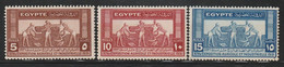 EGYPTE - N°141/3 ** (1931) - Unused Stamps