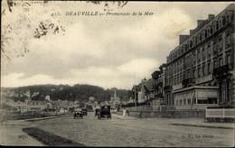 CPA Deauville Calvados, Promenade De La Mer - Autres Communes
