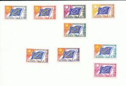 1963-1971 - ( Services)  - Conseil De L'Europe - Série N° 27 à 35   + 15 A Et 16 - Ungebraucht