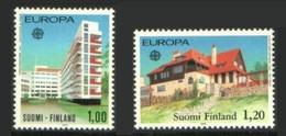 Finlande Finland 1978 Yvert 788/789 ** Europa 1978 Monuments - Ungebraucht