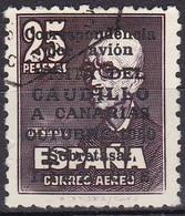 Spanien, 1950, 987 II,  Used Oo, VISITA / DEL / CAUDILLO / A CANARIAS - 1931-50 Usati