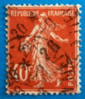France 1924 : Type Semeuse Fond Plein Inscriptions Grasses Type I N° 194a Oblitéré - Used Stamps