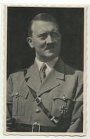 """Hitler Foto Grimm Nürnberg Blanko Sonderstempel """"Saarbrücken Eröffnung Gautheater"""" 1938 - People"""