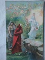 Italienne - L. Maignan - Dante Et Béatrix - Dante E Beatrce - Pittura & Quadri
