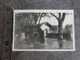 Photographie D Une Voiture Le 11 Novembre 1935 Dans Une Inondations De La ... - Automobili