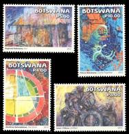 (266) Botswana  2015 / Modern Art / Kunst  ** / Mnh  Michel 1010-13 - Botswana (1966-...)