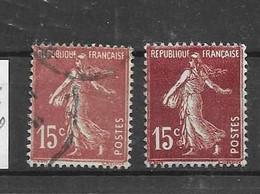 189 TI + T II - Used Stamps