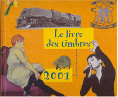 Le Livre Des Timbres 2001 Complet Lot Sous Valeur Faciale France Timbres Neufs + Boitier - 2000-2009