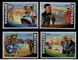(282) Botswana  2016 / Democracy And Dialogue  ** / Mnh  Michel 1049-52 - Botswana (1966-...)