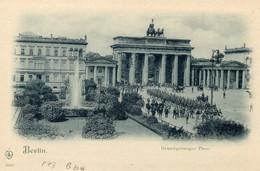 Postkarte Ganzsache Deutsches Reich Brandenburger Tor - Non Classés