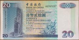 Bank Of China 20 Dollars 1994 UNC Non Circulé - Hongkong