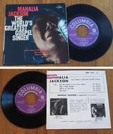 "RARE Dutch EP 45t RPM (7"") MAHALIA JACKSON (1960) - Canti Gospel E Religiosi"