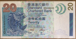 Standard Chartered Bank 20 Dollars 2003 UNC Non Circulé - Hongkong