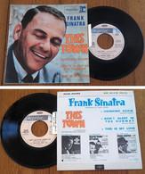 "RARE French EP 45t RPM BIEM (7"") FRANK SINATRA (Lang, 1967) - Jazz"