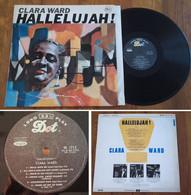 """RARE French LP 33t RPM (12"""") CLARA WARD (1966) - Canti Gospel E Religiosi"""