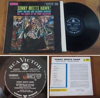 "RARE French LP 33t RPM BIEM (12"") SONNY ROLLINS And COLEMAN HAWKINS (02/1966) - Jazz"