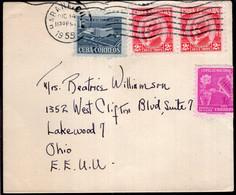 Cuba - 1955 - Lettre - Envoyé En USA - Covers & Documents