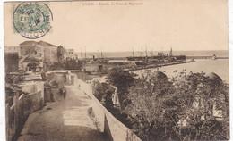 "LIBAN. BEYROUTH. RARETE.  "" SYRIE . ENTREE DU PORT DE BEYROUTH "". ANNEE 1905 - Libano"