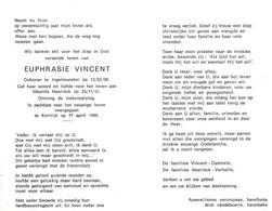 Euphrasie Vincent (1909-1990) - Santini