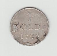 MASSA ET CARRARE - 4 SOLDI 1792 - Monete Feudali