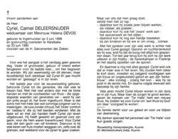 Cyriel Camiel Deleersnijder (1899-1990) - Santini