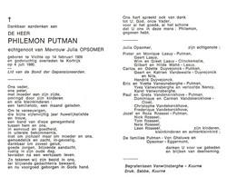 Philemon Putman (1909-1990) - Santini