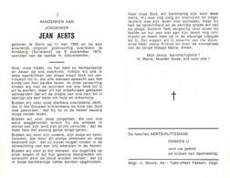 Jean Aerts (1955-1974) - Santini