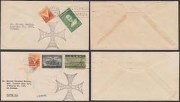 "Cuba 1944 - Lot  De 2 FDC ""First Day Cover"" De La Habana . Theme: Columbus""..... (VG) DC-10143 - Used Stamps"