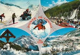 CARTOLINA  PONTE DI LEGNO M.1258,BRESCIA,LOMBARDIA,BELLA ITALIA,MONTAGNA,VACANZA,LA NEVE,SCIARE,VIAGGIATA 1971 - Brescia