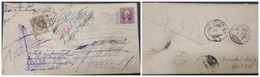O) 1937 UNITED STATES USA, POSTAGE DUE MEXICO, TOWER OF LOS REMEDIOS, GEORGE WASHINGTON, CIRCULATED COVER XF - Covers & Documents
