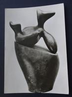 Die Meister, Jean Arp, Phantastischer Pokal, Bronze - Sculture