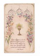Citation Abbé Perreyve, Eucharistie, Vitraux Et Lys - Santini