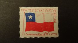 1967 Yv 321  MNH C17 - Cile
