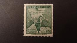 1959 Yv PA 184  MNH C17 - Cile