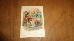LES CORDONNIERS Chaussures Souliers Anciens Métiers Chromo Compagnie Anglaise Cie Bruxelles Vignette Old Trading Card - Altri